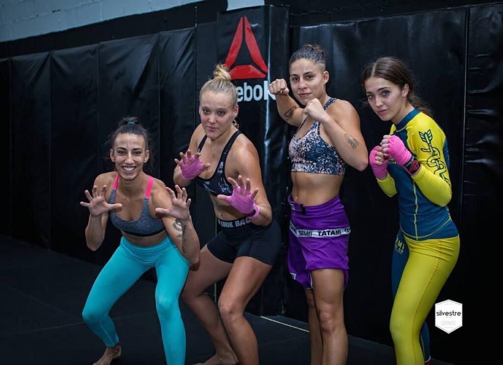 Equipo femenino Sutemi MMA