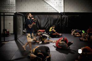 Entreno en Sutemi MMA dirigido por Enrique Marín Wasabi