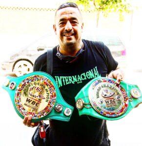 Lluis Lloret cinturones WBC