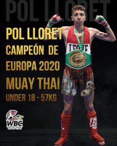 Pol Lloret campeon de Europa 2020