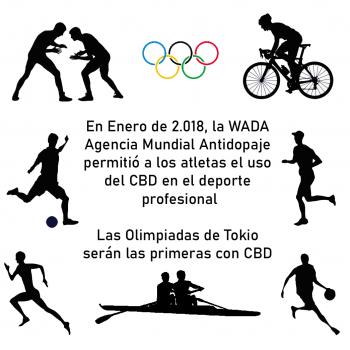 cbd y deporte olimpico